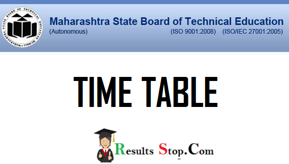 msbte, MSBTE-Time-Table-2021