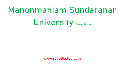 msu-time-table
